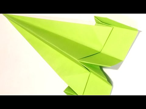 Easy Paper Airplane -Best Paper Plane | That Fly Too Long | Easy DIY