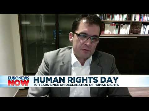 Euronews Interview of Nils Melzer on 2019 Human Rights Day