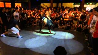 Bboy City 2014 Break style fanatics vs Hazardous zombies