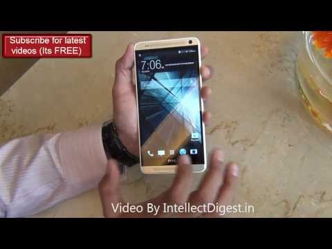 HTC One Max Hands On Review With Camera Sample, Finger Print Feature, Hardware Tour & Specs