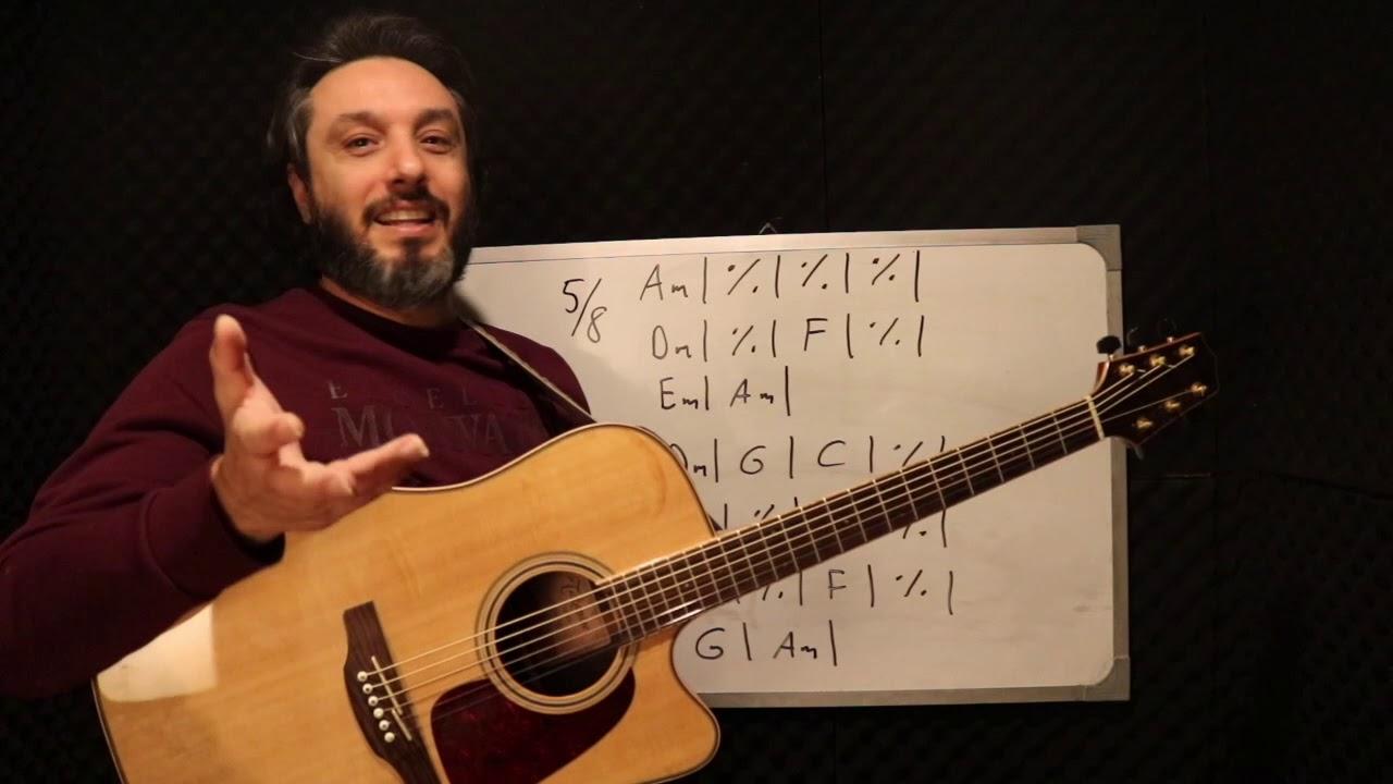Gitar Dersi - Sarı Gelin - (Akor & Ritim)