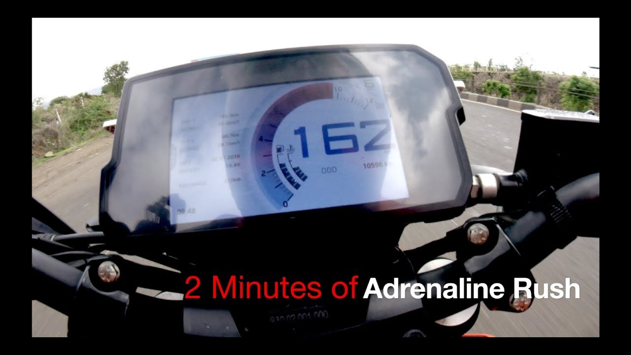 #123 2 Minutes of Pure Adrenaline Rush | KTM Duke 390 | Indian Top Speed  Compilations