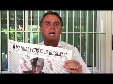 A DIFERENÇA ENTRE JAIR BOLSONARO E LULA