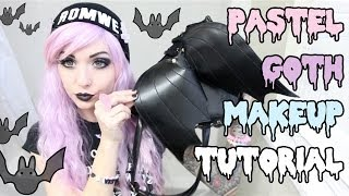 One of Alexa Poletti's most viewed videos: PASTEL GOTH MAKEUP TUTORIAL 2014
