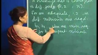 Mod-01 Lec-13 Weak duality theorem, economic interpretation of dual variables