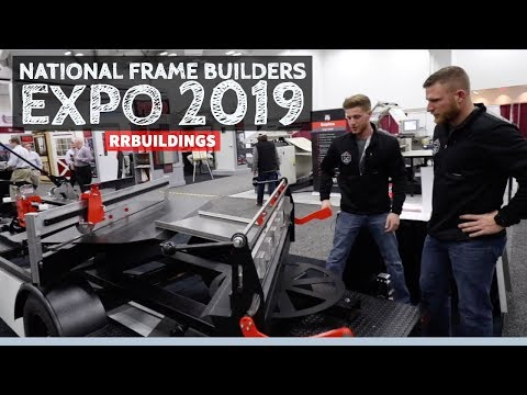 National Frame Builders Expo 2019: Coolest Products for the Industry!