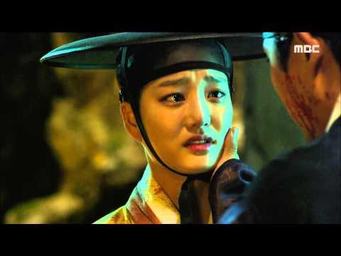 [Scholar Who Walks The Night] 밤을 걷는 선비 20회 - Getting blood from Lee Yoo-bi 20150910