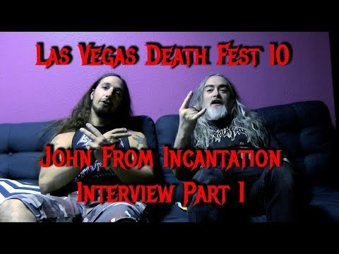 Interview With John From Incantation Part 1 - @ Las Vegas Deathfest X