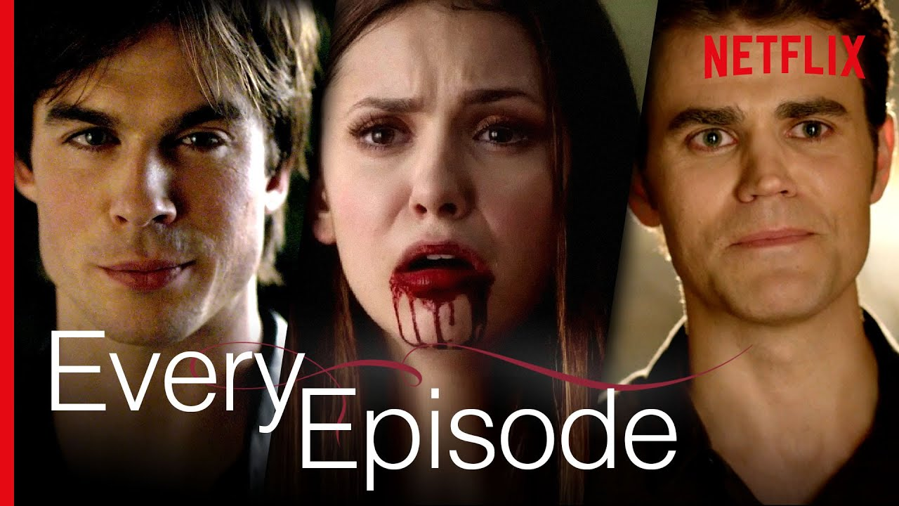 Download 3 Seconds From Every Episode Of The Vampire Diaries | Netflix