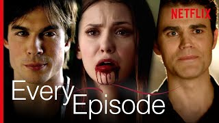3 Seconds From Every Episode Of The Vampire Diaries | Netflix