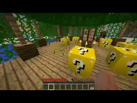 Minecraft LUCKY BLOCK HUNGER GAMES #1 with The Pack