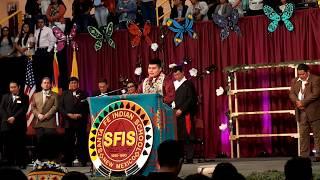 SFIS GRADUATION CEREMONY 2019 –Invocation Theodore Chavez - Laguna Pueblo