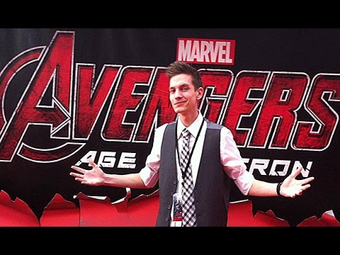 UnlistedLeaf Goes To The Marvel Avengers Age Of Ultron Premiere!!