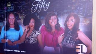 AY MAKUN,  DON JAZZY,  DAKORE AT PREMIERE, 'FIFTY' (SERIES)