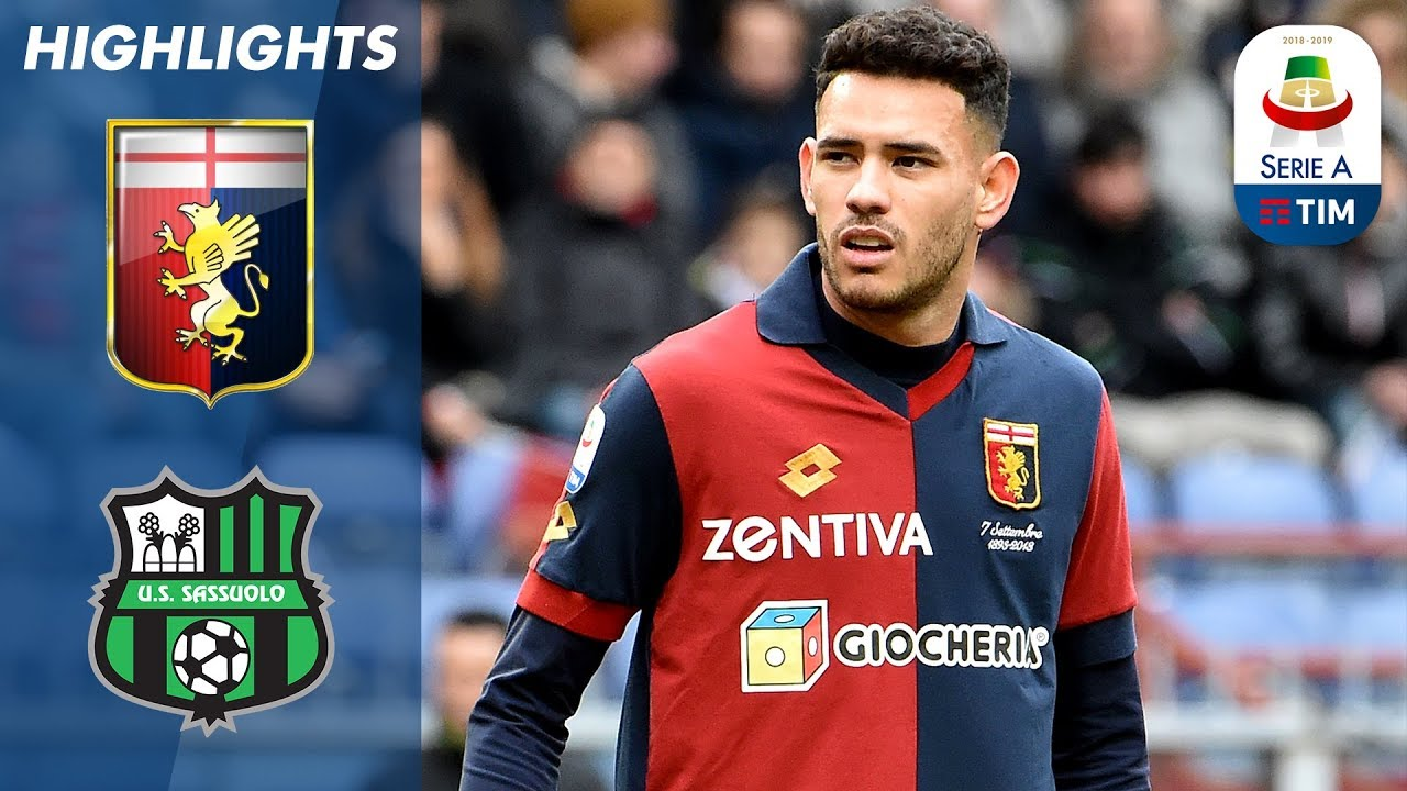 Genoa 1-1 Sassuolo