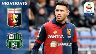 Genoa 1-1 Sassuolo | Match played out to a 1-1 stalemate at the Ferraris | Serie A