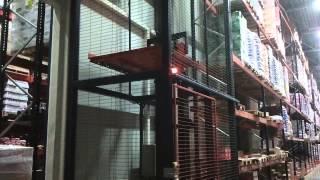 Лифт для поддонов / Lift kaubaaluste jaoks(LAOVARUSTUS OÜ koostöös meie parteriga LARGA OÜ esitleb lifti kaubaaluste ja muude veoste jaoks, mis on valmistatud vana tõstuki (Reach Truck tüübi) ..., 2013-04-25T11:49:17.000Z)