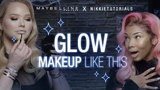 How To Glow Like Nikkie Tutorials + MsAaliyahJay | Maybelline New York