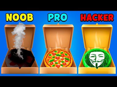 NOOB Vs PRO Vs HACKER - Pizzaiolo