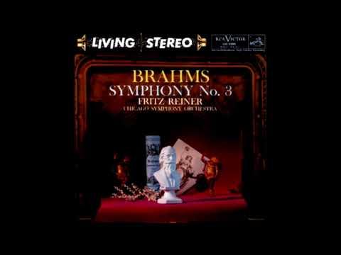BRAHMS: Symphony No. 3 in F major op. 90 / Reiner · Chicago Symphony Orchestra