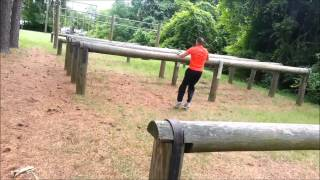 Obstacle Course Run Quantico VA 2013 June 13
