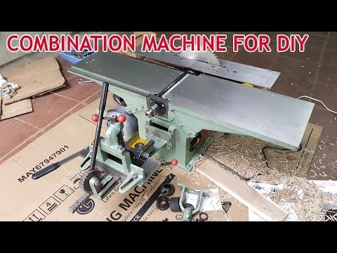 Assembling - Combination Machine Woodworking For DIY at home
