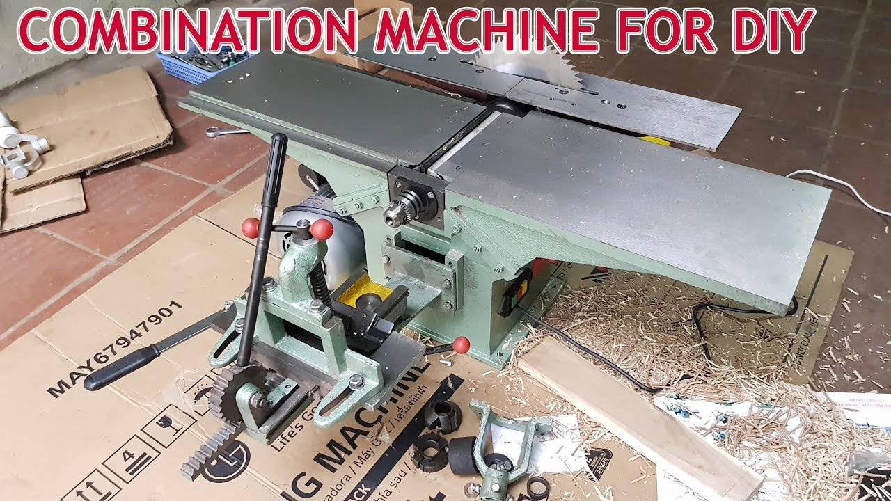 Assembling Combination Machine Woodworking For Diy At Home Youtube