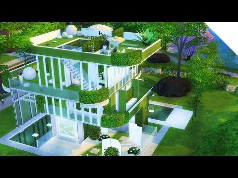 ALIEN Eco Build | The Sims 4