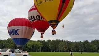 Вот как взлетают воздушные шары