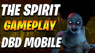 DBD Mobile- the spirit crazy gameplay- Dead by daylight mobile android/iOS