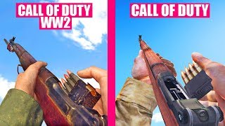 Call of Duty WW2 Gun Sounds vs Call Of Duty 1