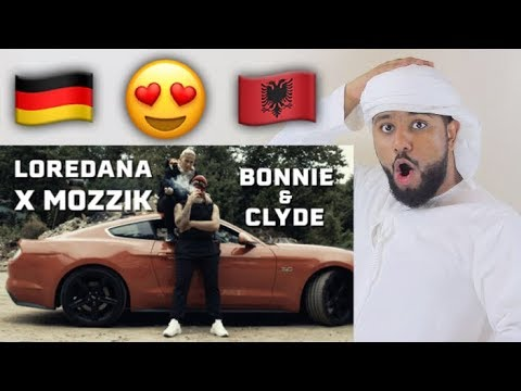 ARAB REACTION TO GERMAN\ALBANIAN MUSIC BY Loredana feat. Mozzik BONNIE & CLYDE**AMAZING**