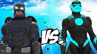 Future flash vs batman - epic superheroes battle