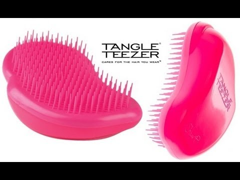 Расческа Tangle Teezer Original Pink Rebel / Pink -Yellow 371005