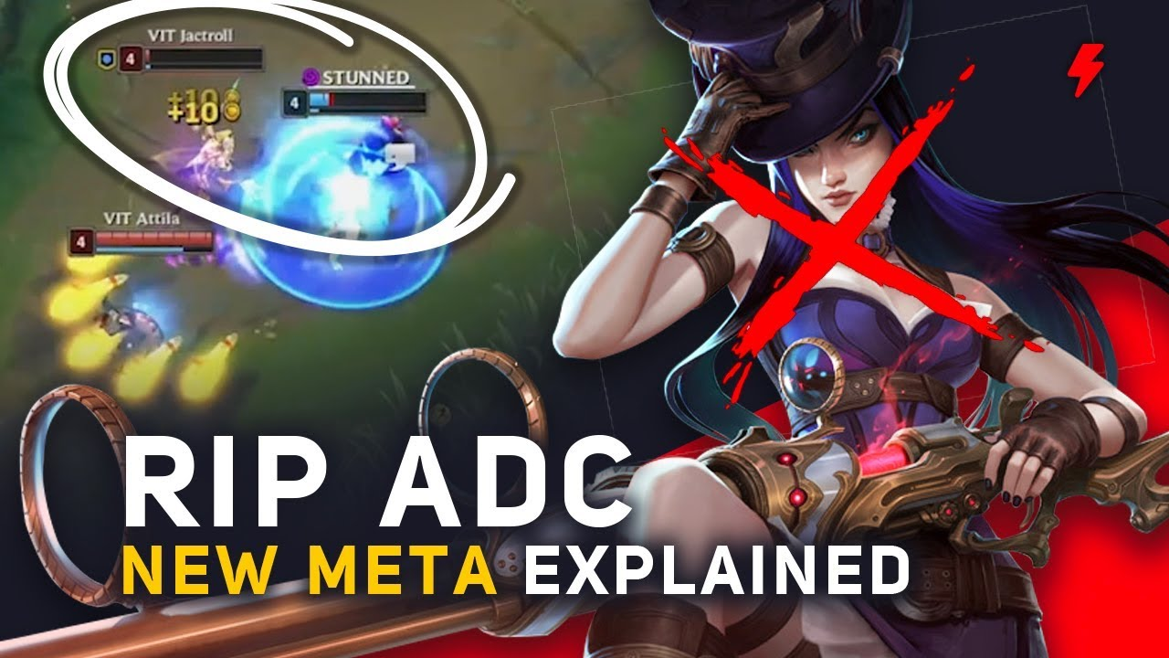 Why ADCs Died: League of Legends' New Season 8 Meta Explained (Patch 8.12)