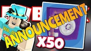 ROBLOX JAILBREAK x50 VAULT SAFE ANNOUNCEMENT!