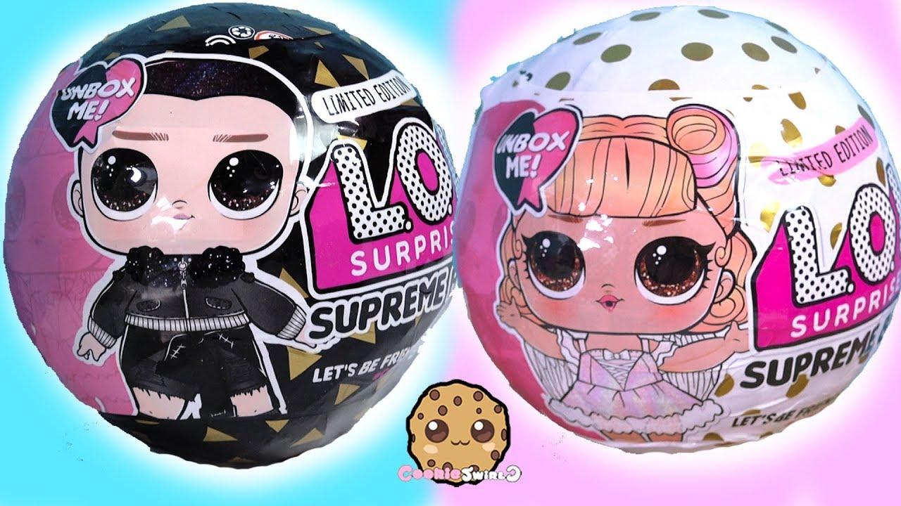 b6487e7b24c9a LOL Surprise SUPREME BFF Amazon Limited Edition New Boy + Girl Doll Blind  Bag Ball