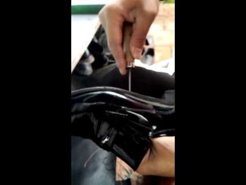 Cách khâu giày dép thật đơn giản
