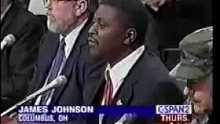 Militia Leader James Johnson Speaks to Senate Part 1 of 3.mp4