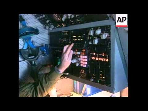 ITALY: AWACS SURVEILLANCE AIRCRAFT OVER THE ADRIATIC