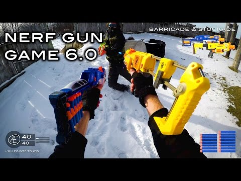 Thumbnail: Nerf meets Call of Duty: Gun Game 6.0 | First Person in 4K!