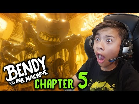 BENDY AND THE INK MACHINE - CHAPTER 5!!! The Final Battle! It's OVER!