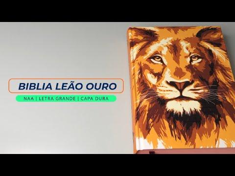 bíblia-sagrada- -naa- -letra-grande- -capa-dura- -leão-ouro---livrarias-família-cristã