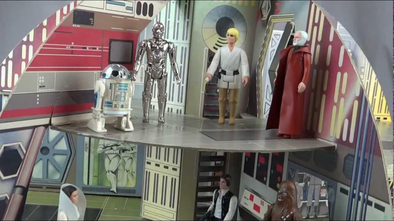 Star Wars Vintage Palitoy Death Star Playset Youtube