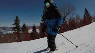 Ski à La Réserve, Saint-Donat (Québec) - 26 mars 2017 - GoPro