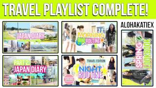 TRAVEL PLAYLIST COMPLETE CLICK TO SEE THE DIRECTORY :