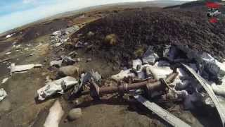 "Aircraft Wreckage of a B29 Superfortress ""Over exposed"" Crashed 1948"