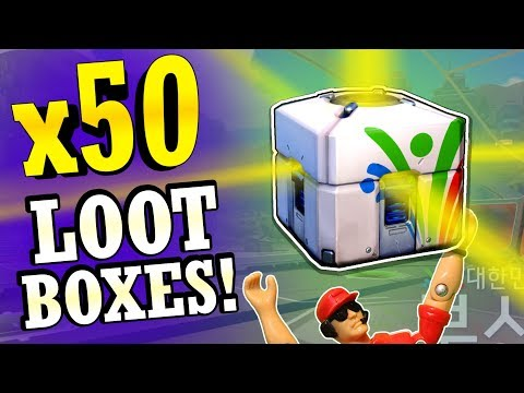 Literally NO LUCK! - Opening 50+ Overwatch Summer Games Loot Boxes