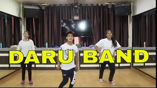 Daru Band | Mankirat Aulakh | Bhangra Dance Choreography By Step2Step Dance Studio | Easy Steps
