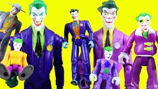World's Biggest Just4fun290 Joker Family Toy Collection + Imaginext Joker Vehicles